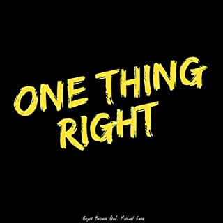 One Thing Right