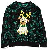 Mops Weihnachtspullover