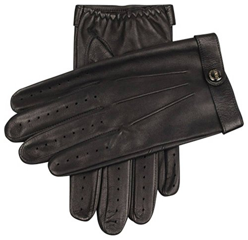 Dents Mens Fleming James Bond Spectre Driving Gloves - Black - Large