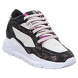 P448   E9LEIA   Sneaker - schwarz   Space, Farbe:schwarz, Größe:40