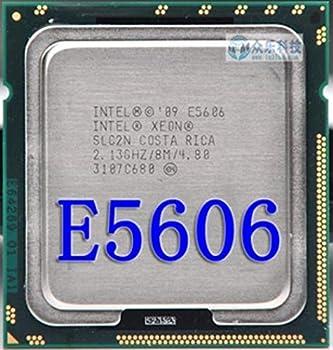 Intel Xeon E5606 e5606 CPU Processor 2.13GHz LGA1366 8MB L3 Cache Quad-Core Server CPU 100% Work
