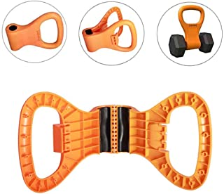 Kettlebell Weight Grip, Adjustable Portable Kettlebell Weight Grip Travel Workout Equipment Gear for Gym Bag, Weightliftin...