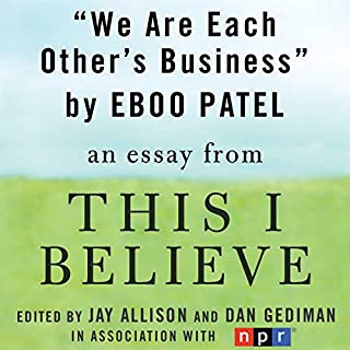 We Are Each Other's Business audiobook cover art