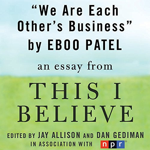 We Are Each Other's Business cover art