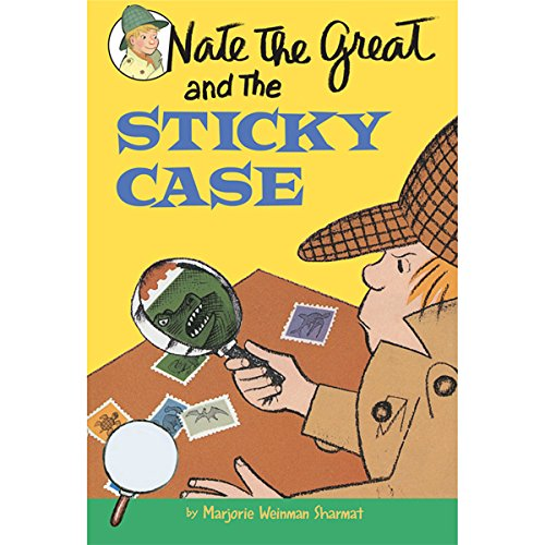 『Nate the Great and the Sticky Case』のカバーアート