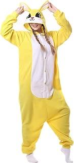 Kafferin Sleepwear Unisex Adult Costume Cartoon Cosplay Party Nightgowns Pajamas Onesies