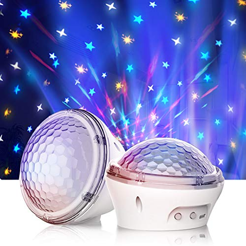 Night Light Star Projector for Kids,Amouhom Star Light,Star Night Light lamp,USB Corded&Timer Setting,Sky lite Galaxy Projector,Best Gift for Kids, Bedroom(1 Piece)