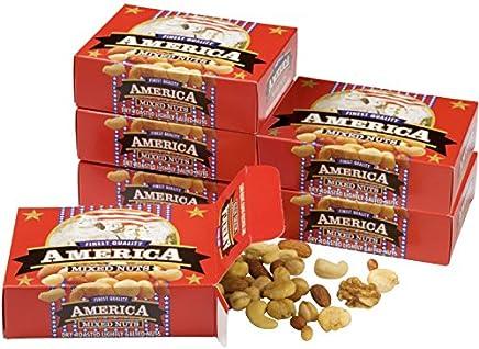 アメリカ 土産 アメリカンミックスナッツ 6箱セット (海外旅行 アメリカ お土産)