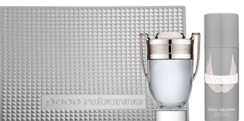 Paco Rabanne Invictus Coffret (Edt 100 Ml Spray + Deo Spray 150 Ml)