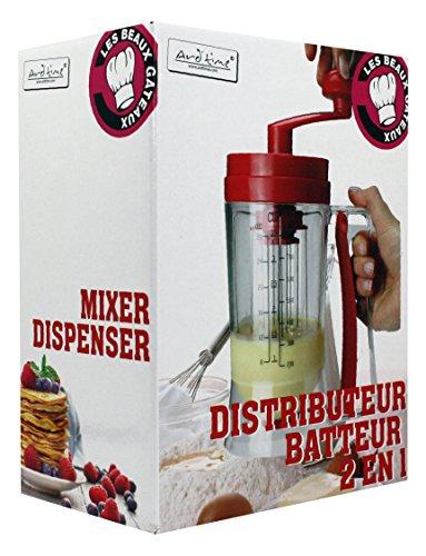 ARD 'time bg-bat Meine schöne Kuchen Handbetriebener Mixer und Dispenser Teig Kunststoff rot 11x 11x 29cm