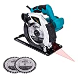 100793 Circular Saw 185mm 1600W 230V with Laser