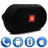 JBL Trip Visor Kit de manos libres Bluetooth inalámbrico recargable montado compatible con Smartphones y tabletas Android/iOS, color negro