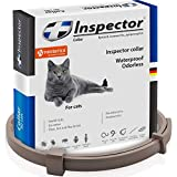 Flea & Worm Collar for Cats – Flea Control and Tick Treatment – Better Than Oral Flea Control Meds – Dog Dewormer Prevention – Cat Worm Collar for Hookworms Roundworms