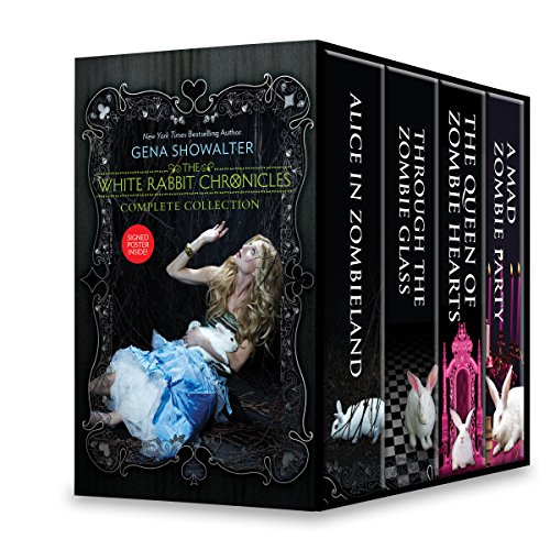 Price comparison product image The White Rabbit Chronicles Boxed Set: Alice in Zombieland, Through the Zombie Glass, The Queen of Zombie Hearts