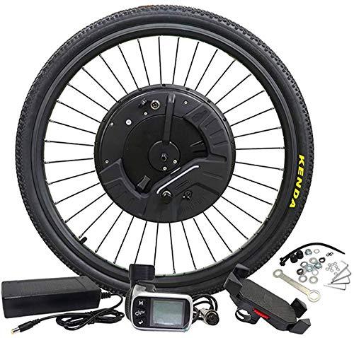 Bicicletas eléctricas Kit de conversión Kit de conversión de la rueda delantera de la bici eléctrica con 20' 24' 26' 700C motor de la rueda 36V E Bike Kit de conversión EBIKE Kit de conversión (color: