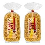 Schmids No.1, 2x formado Pasta 500g 'Rigatoni', exquisito en gusto