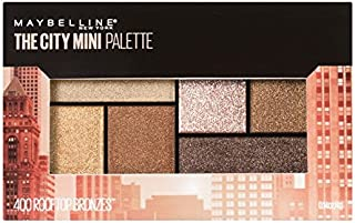 Maybelline New York City Mini Palette Eye Shadows, Rooftop Bronze, 6.1g