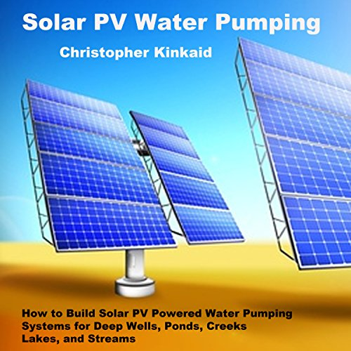 Solar PV Water Pumping audiobook cover art