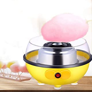 Homemade Cotton Candy Machine Maker Portable Mini Candy Floss Machine Electric DIY Marshmallow Machine Suitable for Variou...