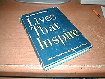 Hardcover Lives that inspire Book