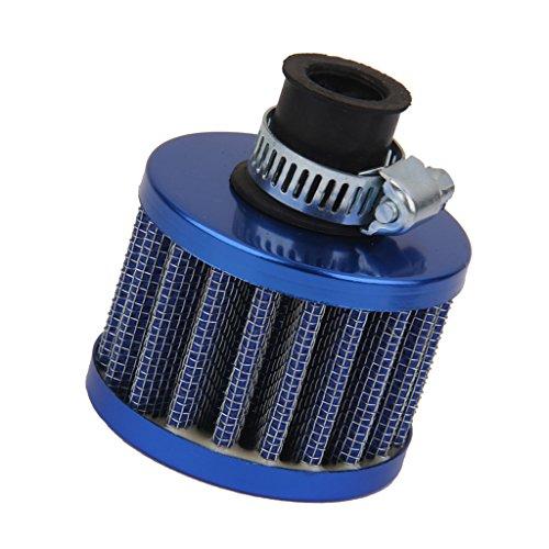 Sharplace Filtre à Air Moteur de Voiture 12mm Turbo Reniflard de Carter - Bleu