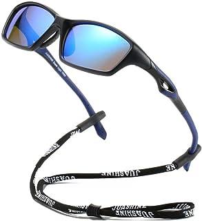 نظارات شمسية شمسية للجنسين من JUASHINE للشباب البيسبول وركوب الدراجات والجري والصيد والجولف دراجة النارية UV400