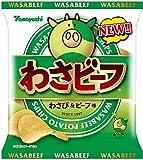 山芳製菓 ポテトチップス 小袋わさビーフ 25g ×24袋