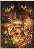 qingbaobao Juego de Rompecabezas de 1000 Piezas para Adultos, niños y Adolescentes: Juego Educativo de Juguetes Familiares (Lindo póster de Anime)