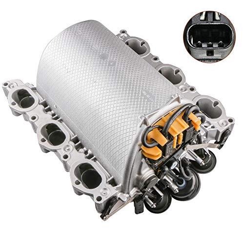 MOSTPLUS 2721402401 2721402201 Intake Manifold Compatible for Mercedes C230 E350 SLK280 S400 GLK350 ML350