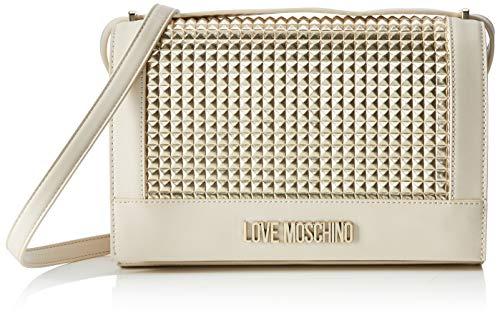 Love Moschino Calf Pu, Borsa a tracolla Donna, (Oro), 6x19x28 cm (W x...