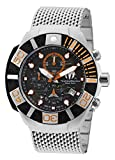 TechnoMarine, Black Reef, reloj de hombre, acero inoxidable y caja de silicona,...