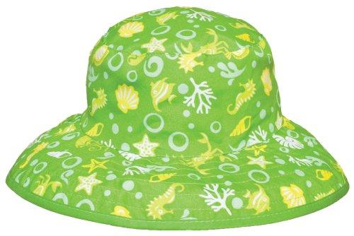 Chapeau de soleil bébé vert 0-2 ans
