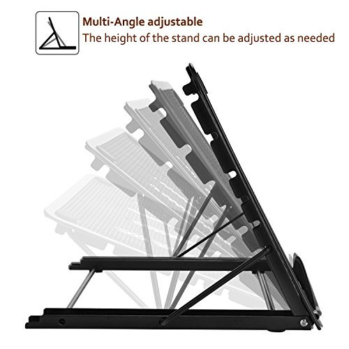 Light Box Pad Stand,Multifunction 7 Angle Points Skidding Prevented Tracing Holder for AGPtek/Huion Laptop LED Light Table A4 LB4 L4S and Most tracing Ligh Box pad