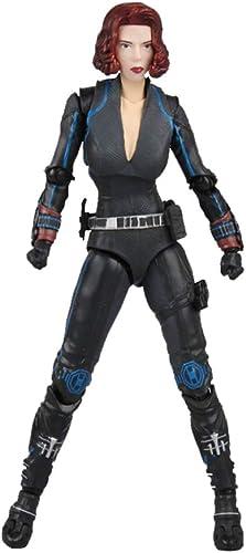 WYZBD Jouet modèle Avengers Alliance 4 Veuve Noire Amovible Action Graphique Collection Cadeaux