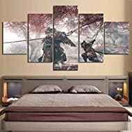 ★Product: Framed canvas painting. The framed canvas painting is already on a wooden frame. It is ready to hang on the wall.Necessary accessories for hanging are packed together with your painting. ★Materials and Size: Thick Canvas and High Quality Pi...