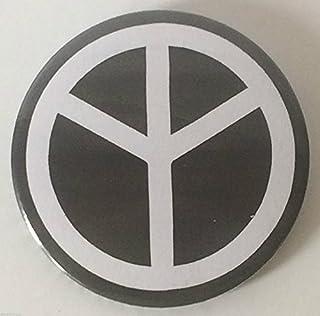 Nero & Bianco CND Pace 59mm Spilla Bottoni Distintivo