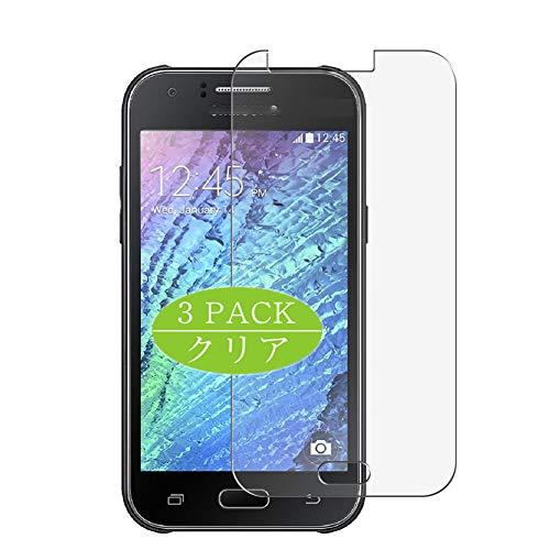 VacFun 3 Piezas HD Claro Protector de Pantalla Compatible con Samsung Galaxy J1 J100F / J100FN / J100H / J100H / J100H / J100M / J100MU, Screen Protector Película(Not Cristal Templado) New Version