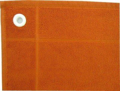 Raumtraum-Dekoshop Handtuch mit Öse 50x 50 orange