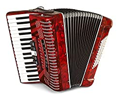 Hohner 1305-RED Hohnica - Best Piano Accordions