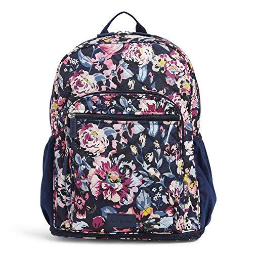 Vera Bradley Medical Professional Backpack, Indiana Blossoms Navy