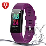 Airbinifit Fitness Tracker for Children,Waterproof Activity Tracker with Heart Rate Monitor,Pedometer Watch,Clock, Sleep Monitor, Stopwatch,Step Counter for Kids