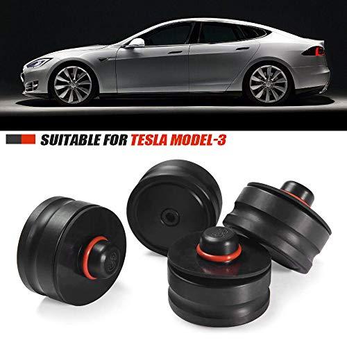 PACEWALKER Para Tesla Model 3/S/X/Y accesorios, 4 rótulas con caja de almacenamiento, Tesla Auto Parts