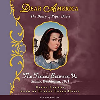Dear America: The Diary of Piper Davis cover art