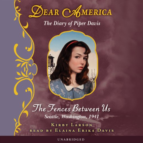 Dear America: The Diary of Piper Davis audiobook cover art
