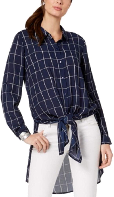 Alfani Printed Congreenible Tunic Shirt