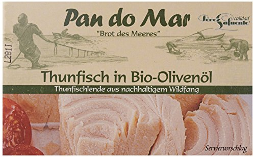 Pan do Mar Thunfisch in Bio Olivenöl, extra nativ (1 x 120 g)