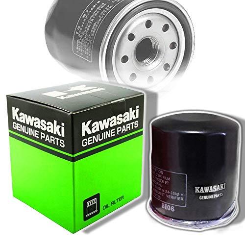 Filtro de Aceite de Motocicleta para Kawasaki ZX600 ZX636 ZX6-R ZZR600 1990-2014, Filtro de Aceite Negro de Alto Rendimiento