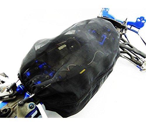 for 1/10 RC Car REVO E-REVO Summit & 1/8 Scale AMMA-Nero Dirt Guard Chassis Cover (Lcg)-1SET Black