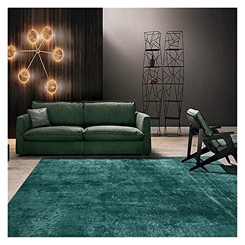 Área alfombra alfombras alfombras salón sala de estar gran tamaño suave toque corto pila no derramamiento - sofá precisión calidad gradiente elegante esmeralda verde diseño creativo calidad antiincrus