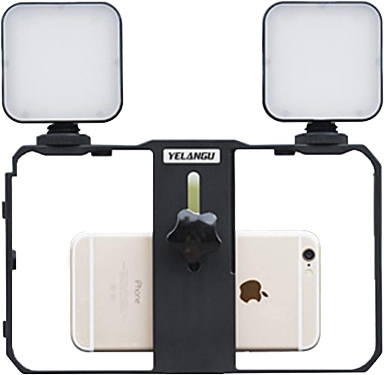 DERCLIVE Phone Camera Stand Fill Light Kit 5 ☆ popular Soldering Smartphone Video Fil